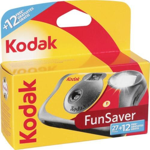 10x Kodak FUNFLASH - Disposable Camera with Flash 27+12  Exposures  - Brand New