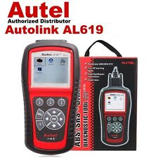 Autel AutoLink AL619 OBD2 OBDII CAN ABS SRS Diagnostc Scan Tool Update Online