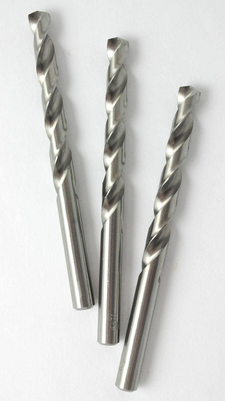 Spiralbohrer Metallbohrer - DIN 338 - Geschliffene - Titan - Cobalt - Bohrer