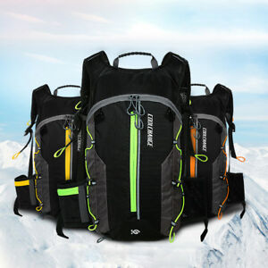 EG/_ 10L MTB BICYCLE CYCLING BACKPACK HYDRATION PACK CAMPING WATER BLADDER BAG ST