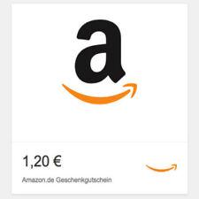 1,20€ Amazon Gutschein Gutscheincode Code Voucher Einkaufsgutschein Coupon NEU