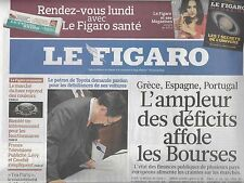 LE FIGARO N°20378 6 FEVRIER 2010 DEFICITS/ BOCUSE/ BHL/ ERWITT/ RUGBY/ ISS/STERN