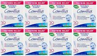 8 Pack Boiron Camilia Teething Relief, 30 Count Ea (0.034 Fl Oz Each) on Sale