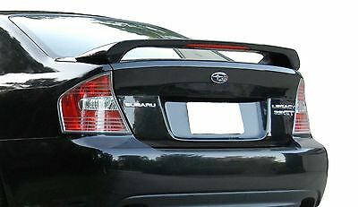 PAINTED SPOILER FOR A SUBARU LEGACY FACTORY STYLE 2005-2009