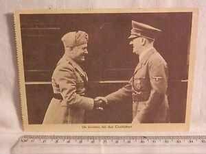 Mussolini-Hitler-cartolina-UN-INCONTRO-DEI-DUE-CONDOTTIERI-A-cura-ufficio-P-N-F