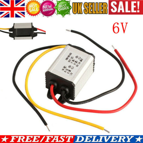 Car Charger Converter 12V To 6V 3A 18W DC To DC Buck  Step Down Module
