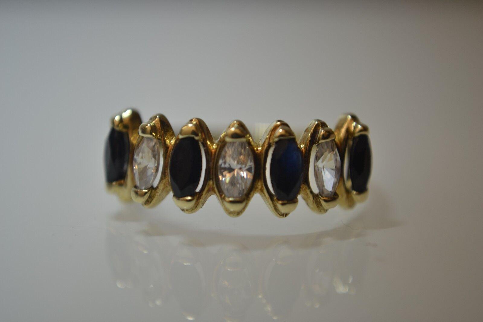 Jewelry & Watches 10ct Oro Bianco Massiccio Regolabile 3 Fascia Anello Dito Piede