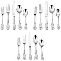 3-Pack of 20-Piece Cuisinart Elite Flatware Set (French Rooster)