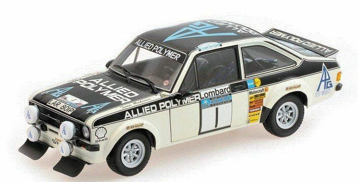 Ford Escort II RS1800 'Allied Polymer' #1 Winners Rac Rally 1975 - 1:18 -