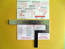 Modified Square Tool Stairstringer Square Pipefitter Square Centerhead Square