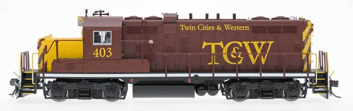 InterMountain HO 49813(S) Twin Cities & Western GP10 Paducah Locomotive