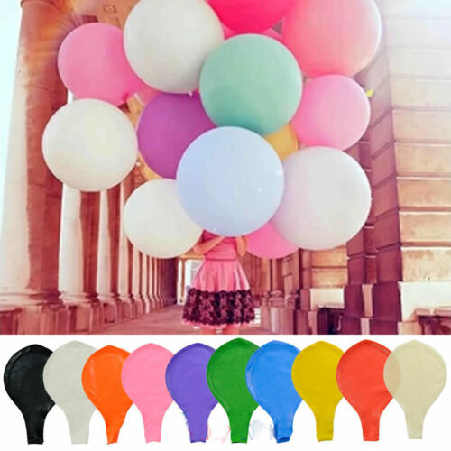 36 Inch Giant Big Ballon Latex Birthday Wedding Party Helium Decor Romant