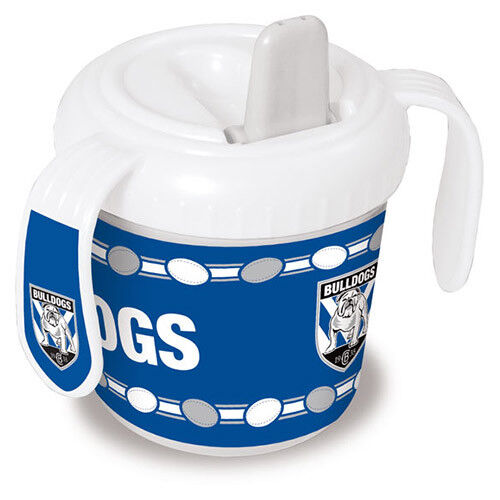 North QLD Queensland Cowboys NRL Training Sipper Sippy Cup With 2 Grip Handles