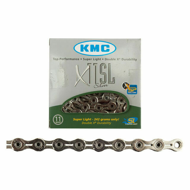 KMC X11SL 11 Speed 116L Bike Chain CP Silver