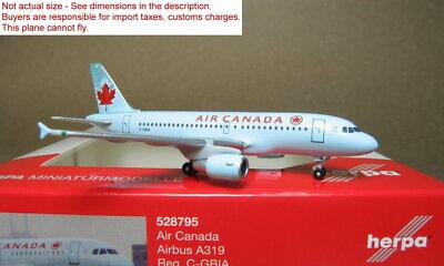 Herpa 528795 A319 Air Canada 1//500