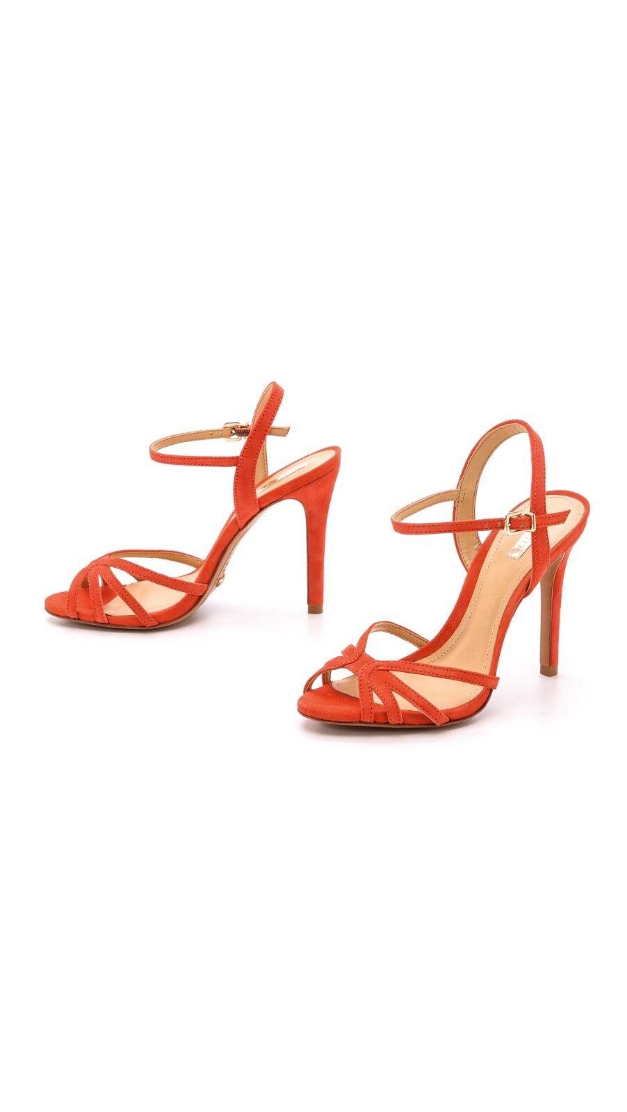 Schutz Dunna strappy 6.5B vintage heels Sandales, Spicy Orange SIZE 6.5B strappy 6.5 B 710b03