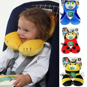 Baby Protection Cushion Head Neck Rest Travel Car Seat