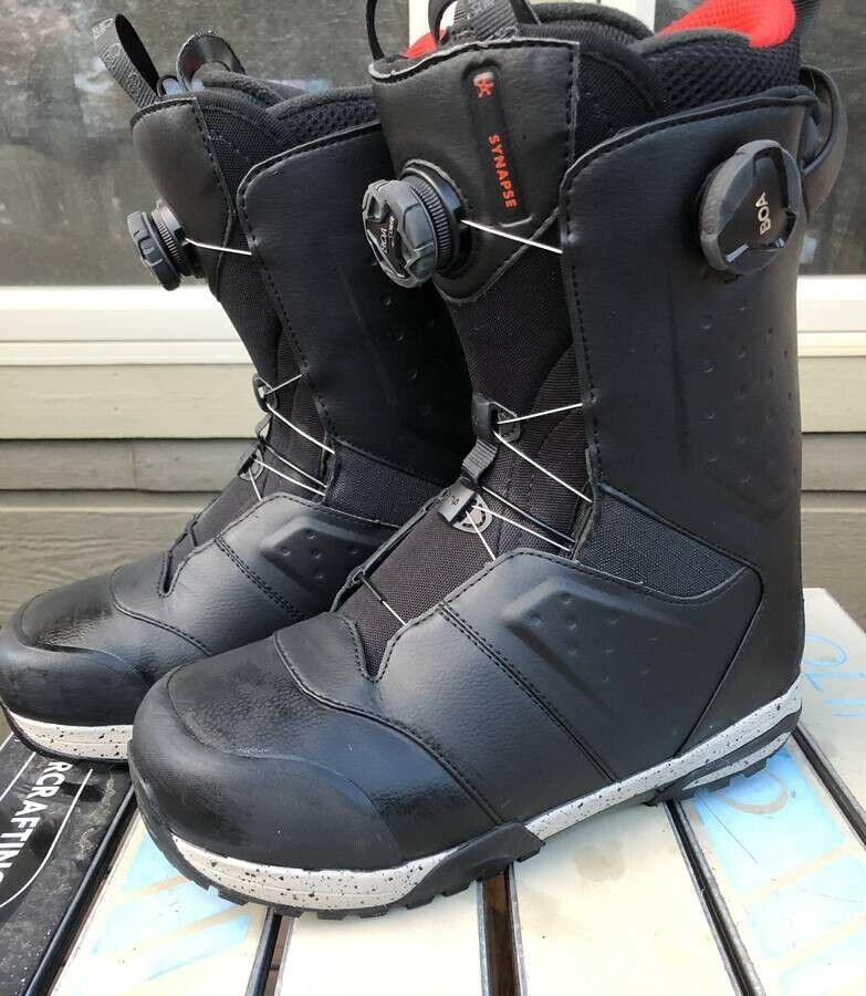 2019 Salomon  Synapse Focus Boa snowboard boots 9.5 mens All Mountain MSRP  349  fashionable