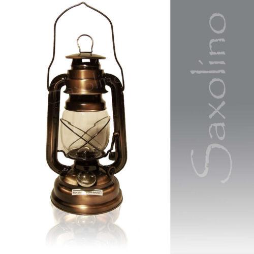 ++ antiquité lampe à pétrole tempête Lampe clapier-Lanterne Lampe À Huile Photophore Cuivre Neuf!
