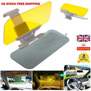 Clip-on-Car-Van-Extender-Sun-Visor-Anti-Dazzle-Glare-Shade-Block-2-in-1-Safely