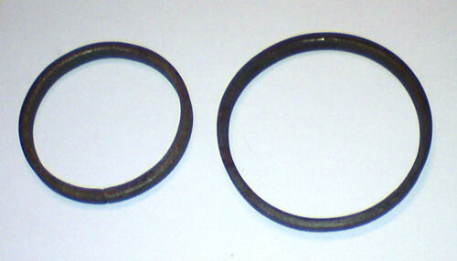 zierelement zaunelement ø100 mm r100//12x6 5 Bagues