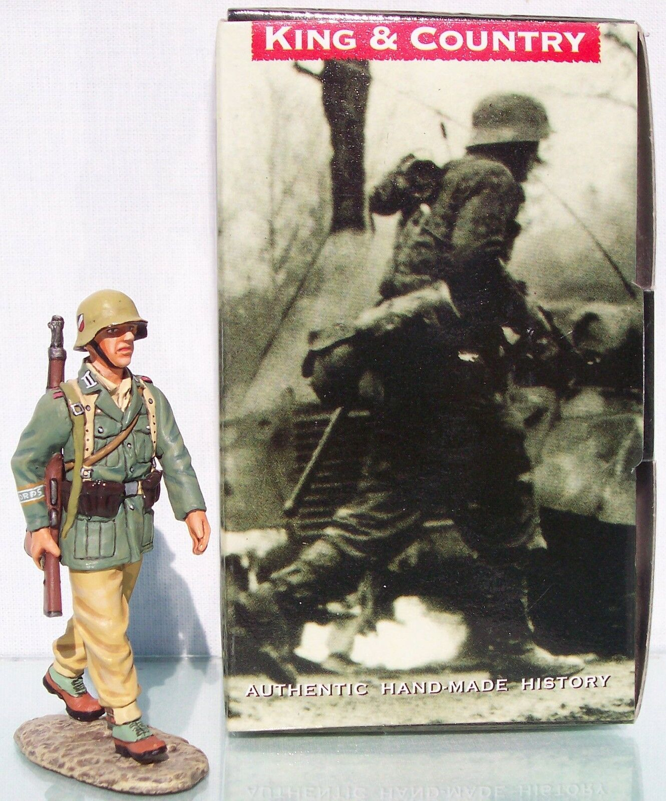 King & Land Afrika Korps AK048 Deutsch Schütze Marsch MIB