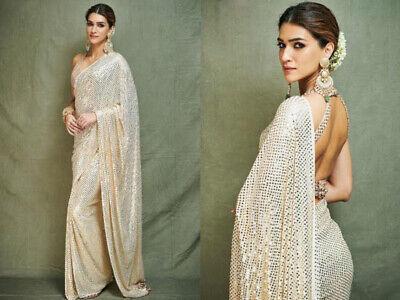 designers saree Georgette saree saree blouse,bridal saree embroidery work saree sequence work saree women/'s saree black saree sari