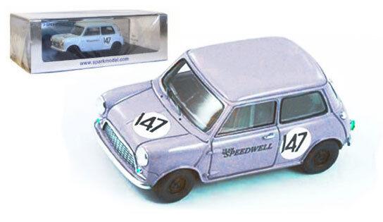 Spark s1519 Mini Saloon   147 bscc 1960-Graham Hill -, échelle 1 43,