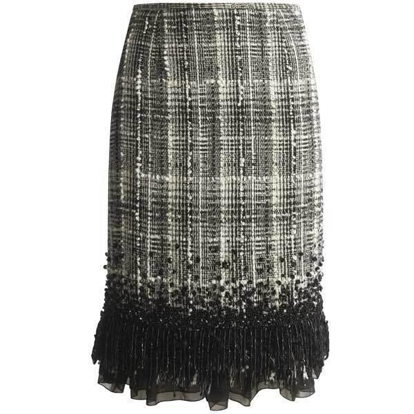 Lafayette 148 New York Matrix Tweed Skirt  ( Size 2)