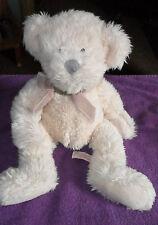 "LARGE RUSS BERRIE MILLENNIUM TEDDY BEAR 15"" PLUSH SOFT STUFFED TOY FREE UK P&P"
