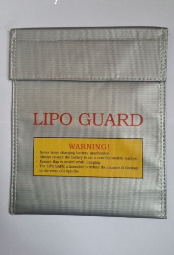 1x Pro Lipo Safe Bag For DJI Battery Safe Charge Explosion-proof 180*230mm Stock