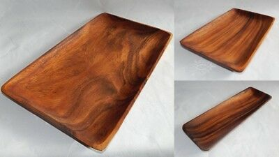 Holzteller Akazie Holzschale 20 25 30 cm Teller Holz Schale Mittelalter Landhaus