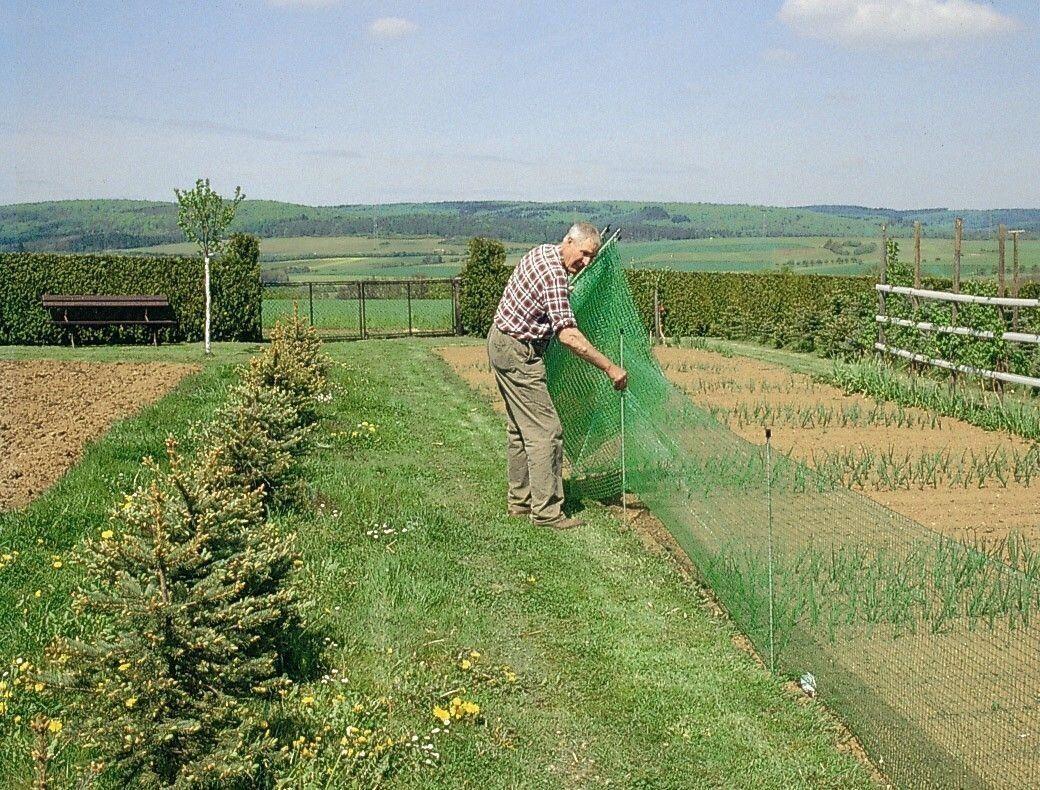 Gartenzaun Universal Begrenzungszaun 80 80 80 cm hoch 01801c