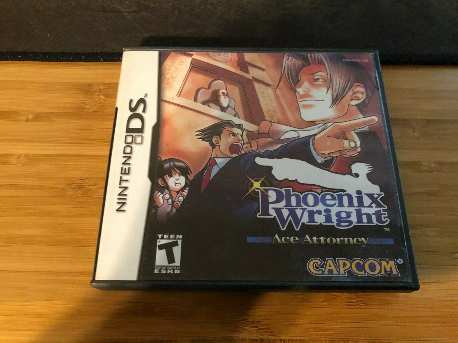 Phoenix Wright: Ace Attorney (Nintendo DS, 2005) Authentic Tested Working 1