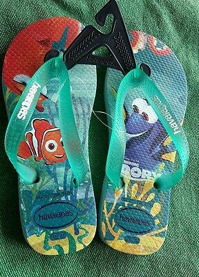 @NEU@Gr 33-34@Havaianas@NEMO-Finding DORY@Kinder Flip Flops Sandale Schlappen