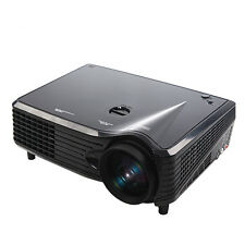 2000LM 1080P LED LCD USB Wifi 3D VGA HDMI TV Home Theater Projector EU Plug