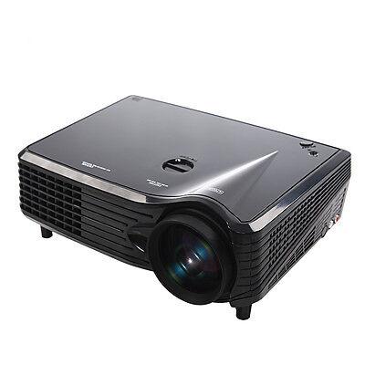 2000LM 1080P LED LCD USB Wifi 3D VGA HDMI TV Home Theater Projector EU Plug