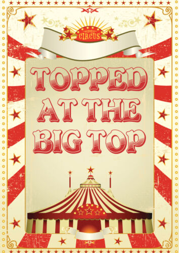 6 10 8 12  player games Topped in the Big Top!