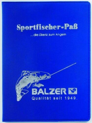 Balzer Sportfischer-Pass Passhülle 199700010 Hülle für den Sportfischerpass