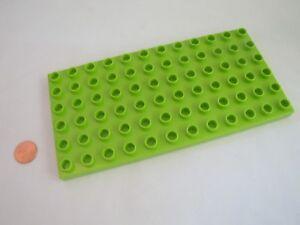 Lego Duplo Lime Green 6 x 12 Dot Base Plate