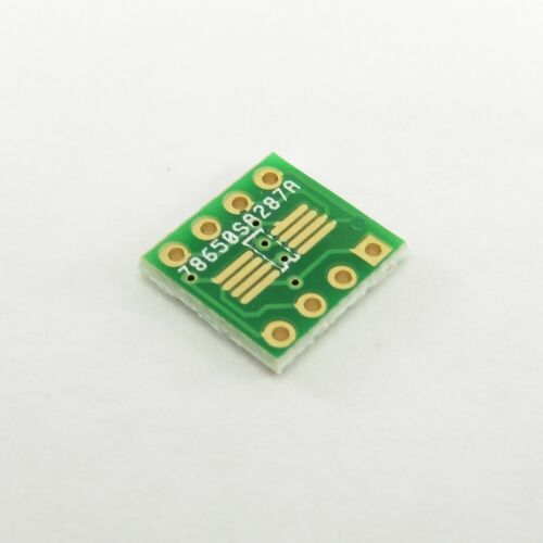 Gold Plated PCB Converter Plate Board SOP8 SO8 TSSOP8 MSOP8 to DIP8 Adapter B33