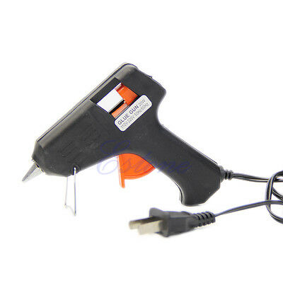 20W Electric Heating Hot Melt Glue Gun Sticks Trigger Art Craft Repair Tool