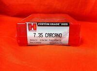 Hornady 7.35 Carcano; Series Iv; 2 Die Set; Full Length 546332