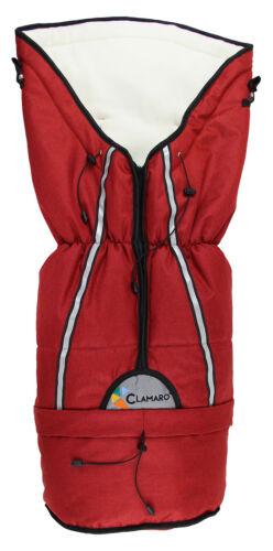 Clamaro Fußsack für Kinderwagen Winter Winterfußsack Universal Thermo Buggy