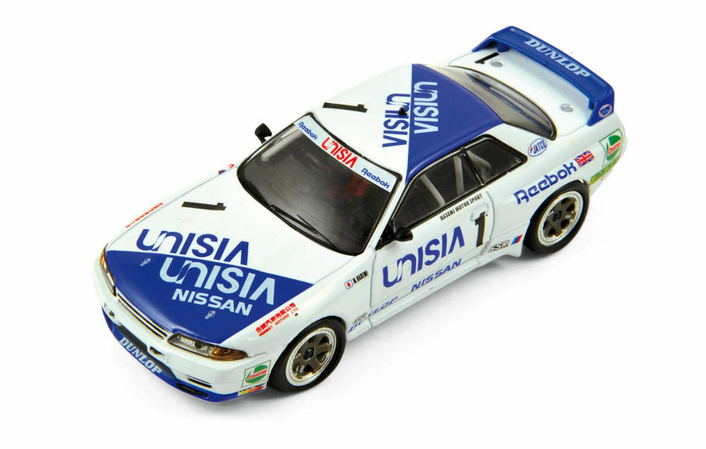 Ixo mgpc004 nissan gtr r32 modell rennwagen m hasemi macau guia rennen 1991 1 43rd