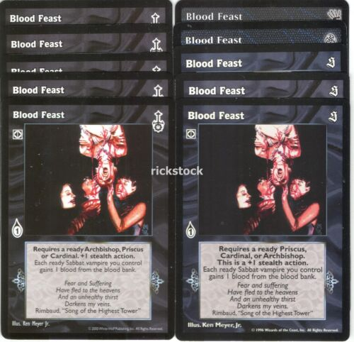 Blood Feast x10 3rd Ed SE SW BH