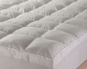 Goose Feather Amp Down Mattress Topper Hotel Quality 1400