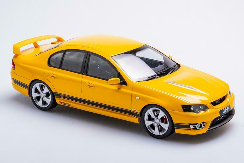 1 18 Scale Biante Model Cars Ford FPV BF Falcon GT-P - Rapid Gelb