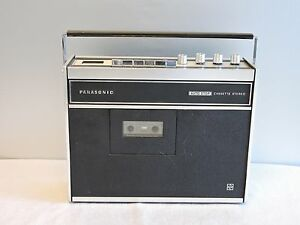 Image is loading Vintage-Panasonic-RS-254S-Stereo-Cassette-Player-Recorder-