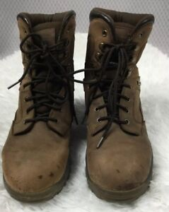Mens Outdoor Gear Hunter Brown Thinsulate Hunting Boots 1046 Size 12 | eBay